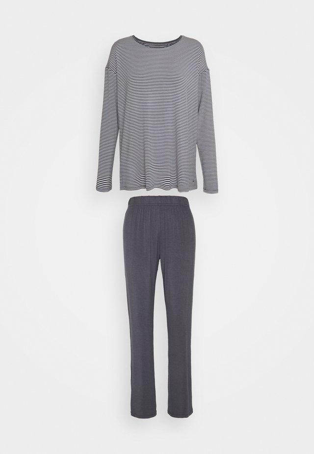 STRIPES SET - Pyžamo - pebble grey