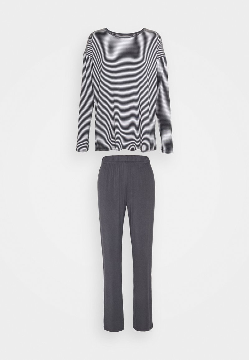 Triumph - STRIPES SET - Pyjamas - pebble grey