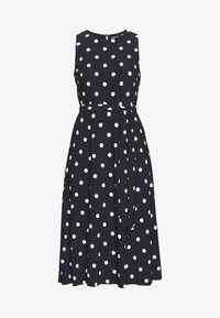 Lauren Ralph Lauren - PRINTED MATTE DRESS - Jersey dress - navy - 5