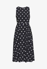Lauren Ralph Lauren - PRINTED MATTE DRESS - Žerzejové šaty - navy - 5