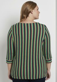 MY TRUE ME TOM TAILOR - MIT KNOTEN-DETAIL - Long sleeved top - multi-coloured - 2