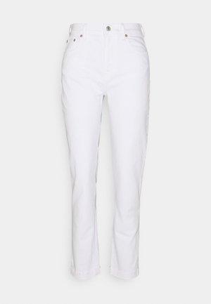 Straight leg jeans - white global