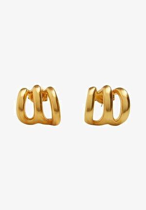 VERDREHTE KREOLEN - Earrings - gold-coloured
