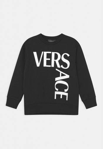 LOGO UNISEX - Sweatshirt - nero/bianco