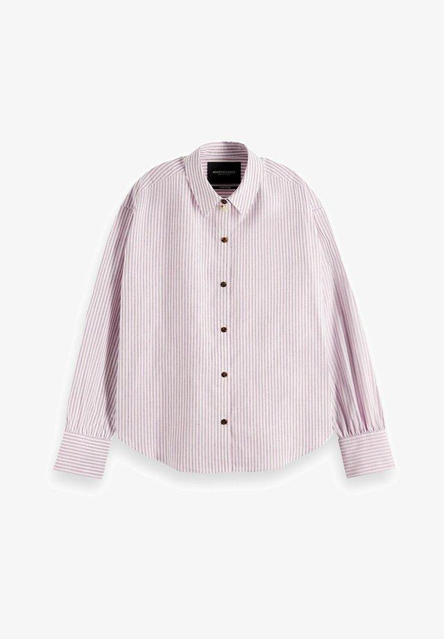 Skjorta - lila-roze