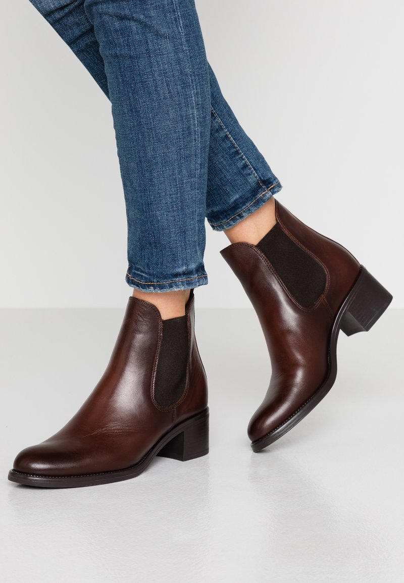 Tamaris - Classic ankle boots - cafe