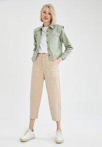 DeFacto - Button-down blouse - green - 1