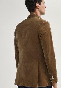 Massimo Dutti - Blazer jacket - brown - 2