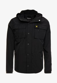 Lyle & Scott - POCKET JACKET - Outdoor jakke - true black - 4