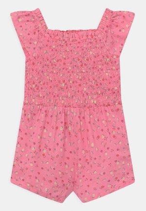 TODDLER GIRL SMOCKED ROMPER - Jumpsuit - pink