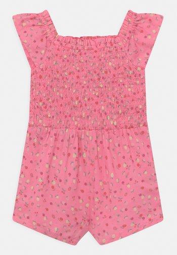 TODDLER GIRL SMOCKED ROMPER - Combinaison - pink