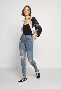 Dr.Denim - LEXY - Jeans Skinny Fit - westcoast blue ripped - 1