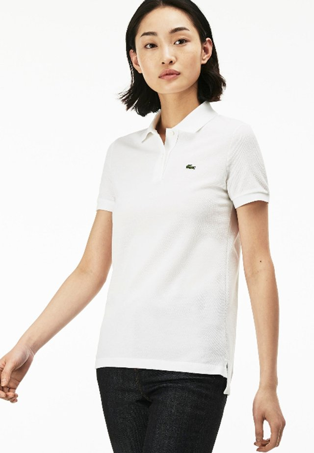 CLASSIC FIT DAMEN - Polo shirt - white