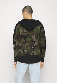 Jordan - Zip-up hoodie - medium olive/black - 0