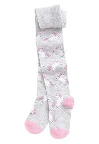 Next - MULTI 3 PACK UNICORN TIGHTS - Ponožky - pink - 2