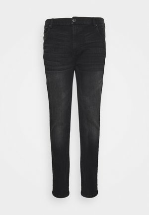 BIG AND TALL - Jeans slim fit - washed black