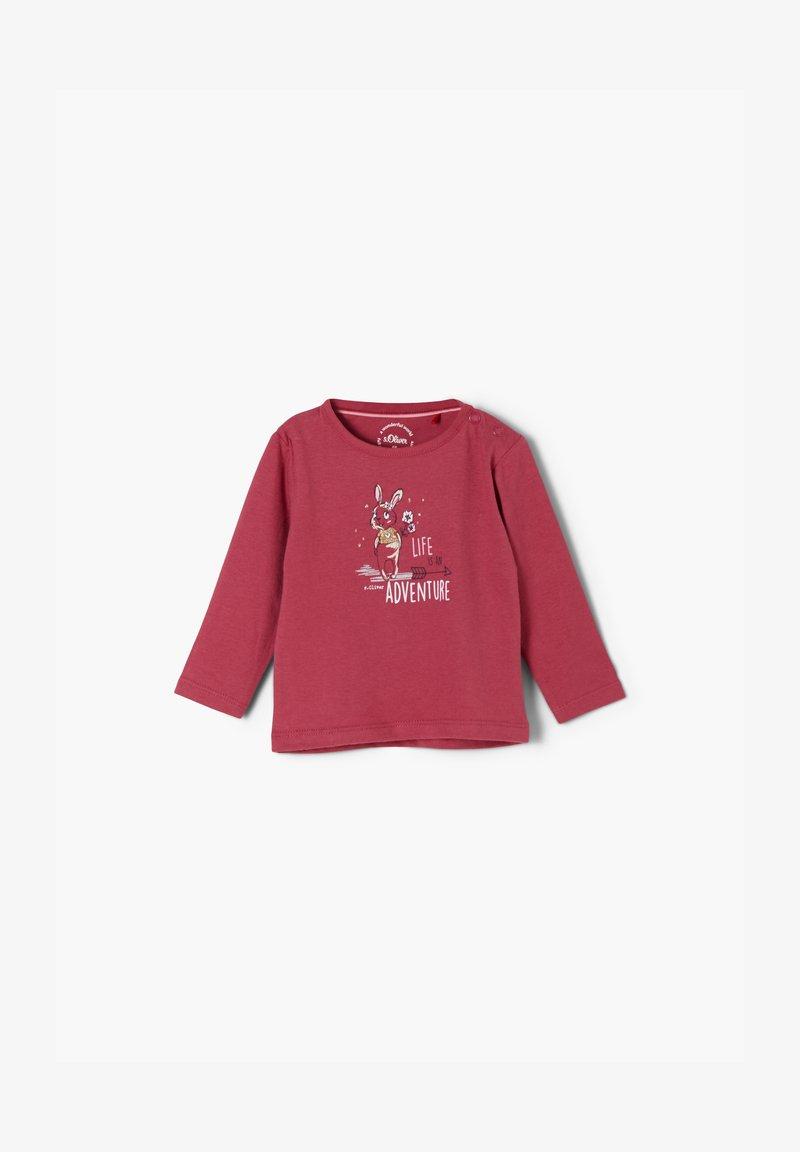 s.Oliver - Sweatshirt - pale red