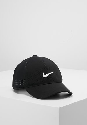 DRY UNISEX - Caps - black/white