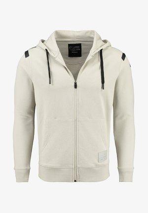 Zip-up sweatshirt - dove grey