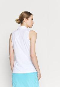 J.LINDEBERG - DENA SLEEVELESS GOLF  - Polo shirt - white - 2
