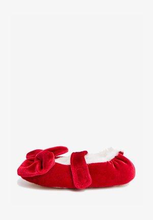 Domácí obuv - red