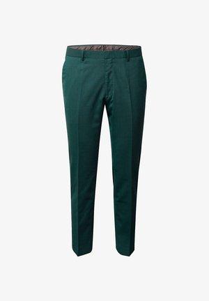 Suit trousers - bottle green