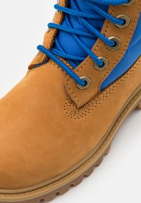 Timberland - PREMIUM UNISEX - Lace-up ankle boots - wheat/blue - 5