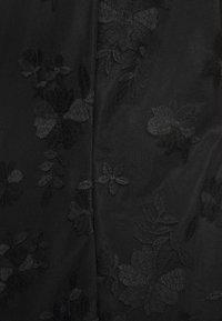 Esprit Collection - DEGRADÉ FLORAL - Sukienka koktajlowa - black - 5
