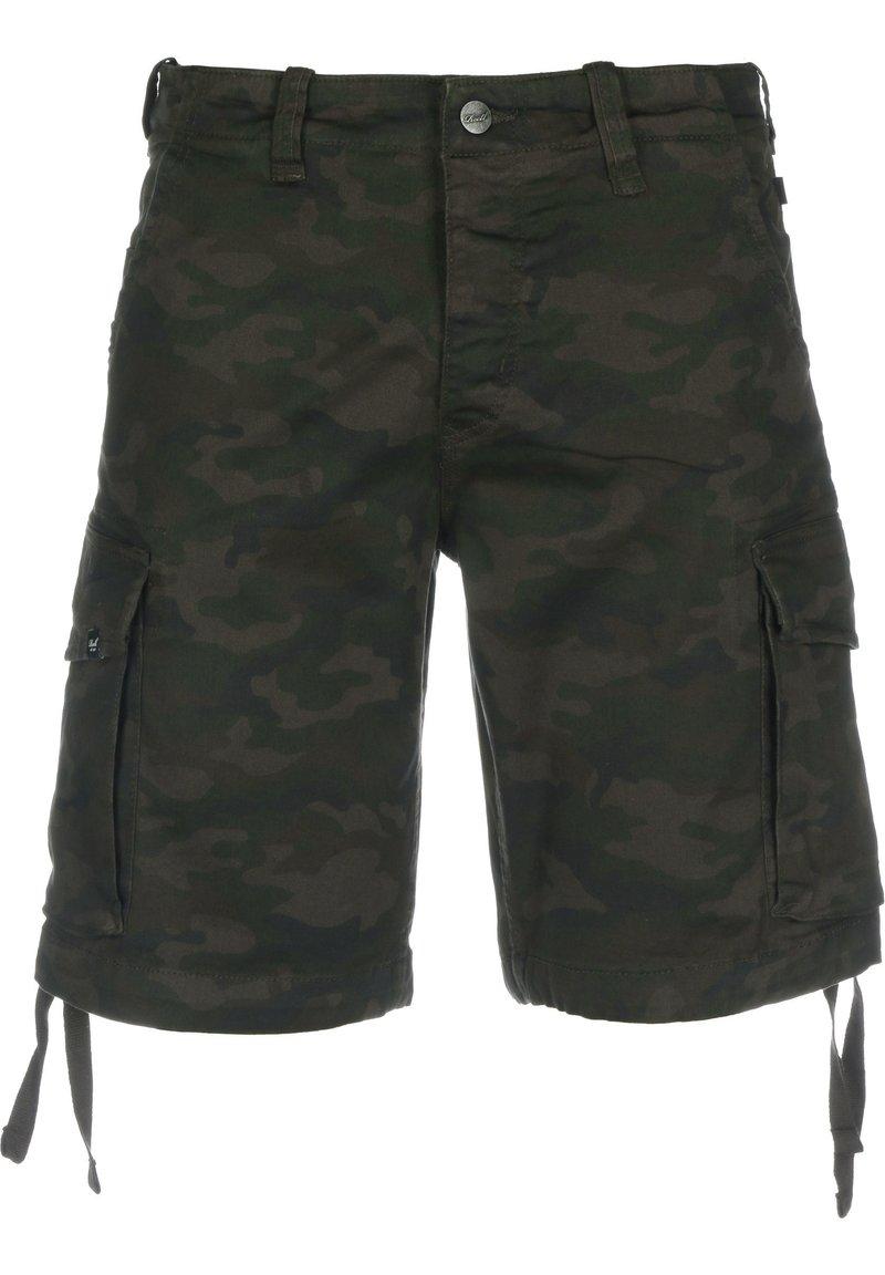 Reell - Shorts - black camo