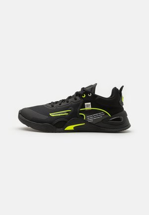 FUSE FM - Sports shoes - black/yellow alert