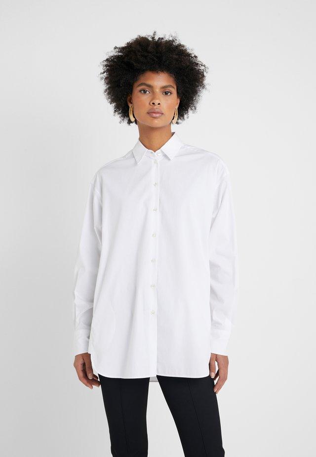 BLOUSE - Button-down blouse - optic white