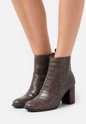 FEE - Classic ankle boots - taupe