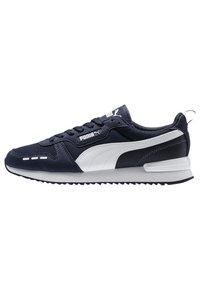 Puma - R78 UNISEX - Sneakers - peacoat- white - 0