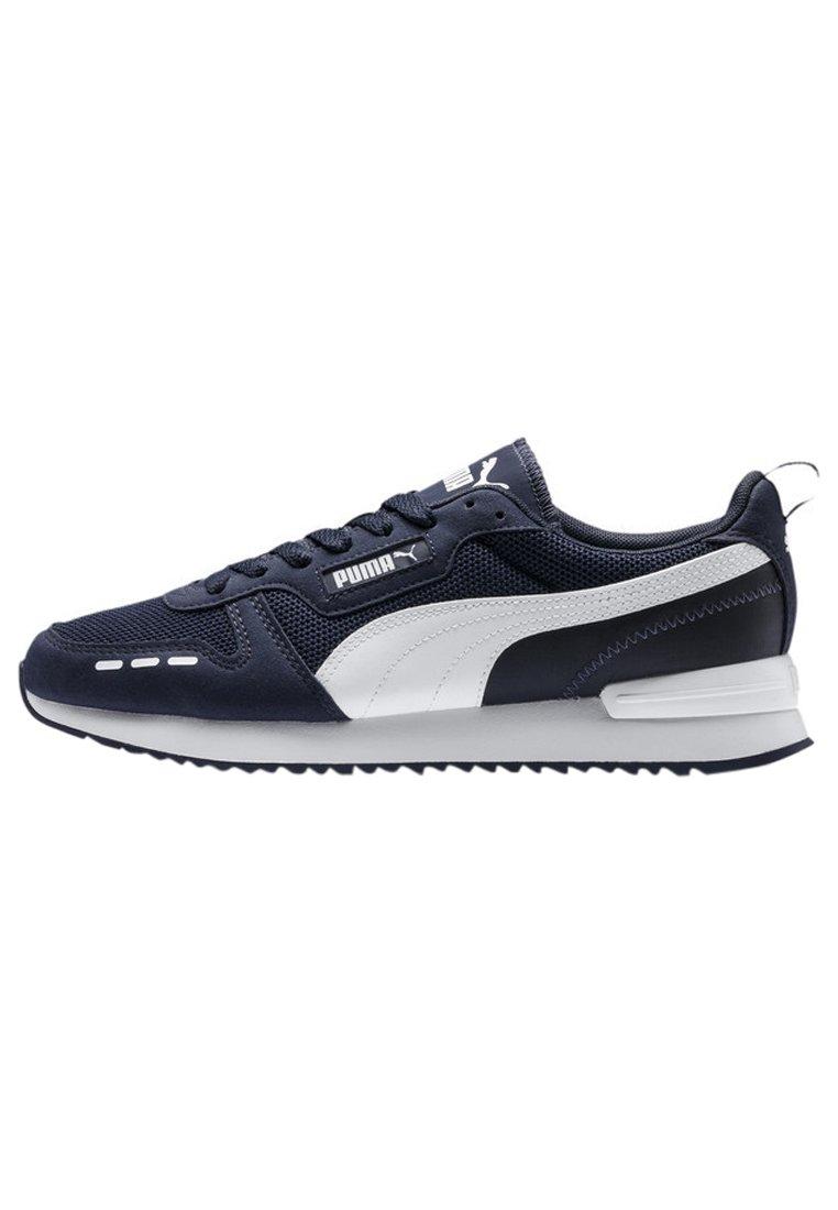 Puma - R78 UNISEX - Sneakers - peacoat- white