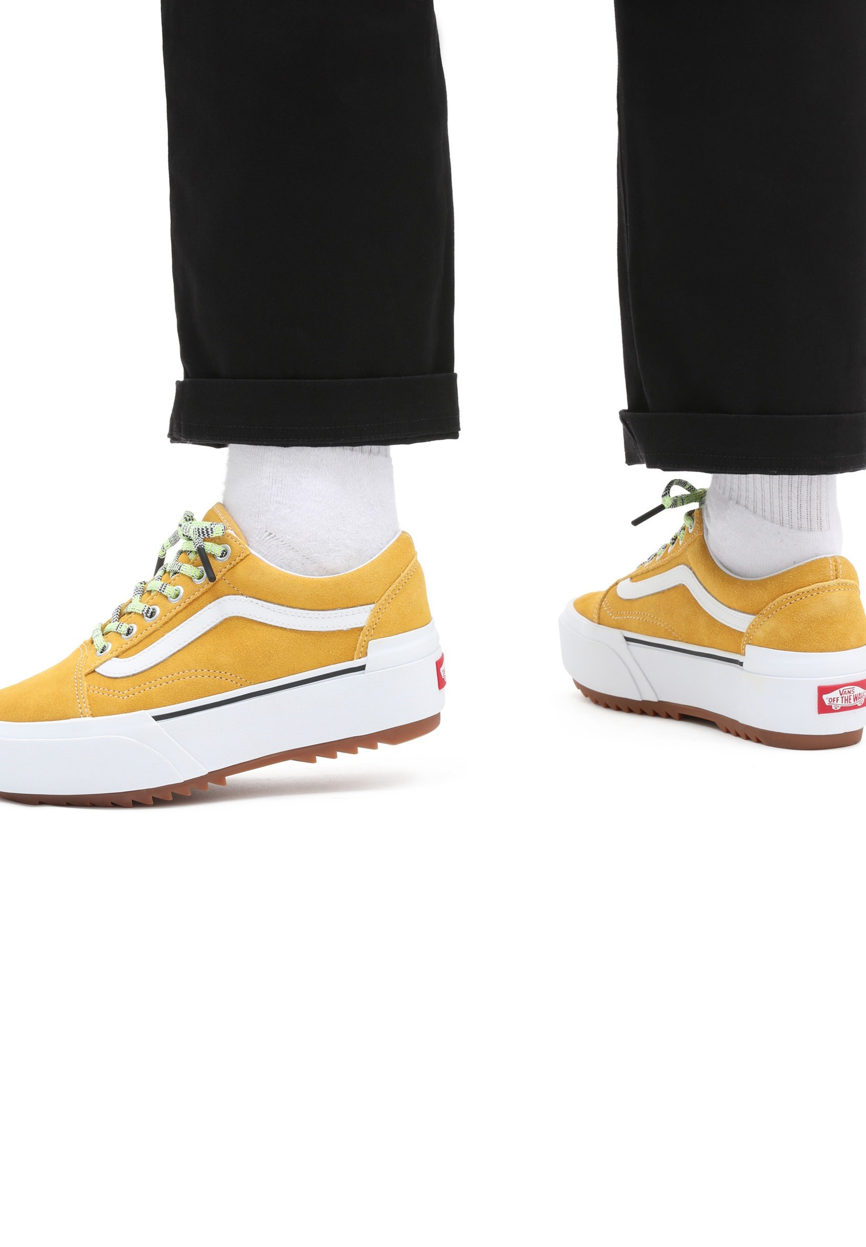 Homme UA OLD SKOOL STACKED - Chaussures à lacets