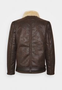 Petrol Industries - Faux leather jacket - crudeoil - 1
