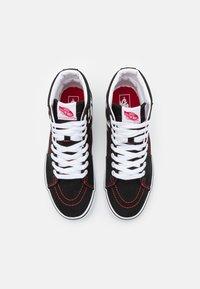 Vans - SK8 HI FOO FIGHTERS UNISEX - Höga sneakers - black/white - 3
