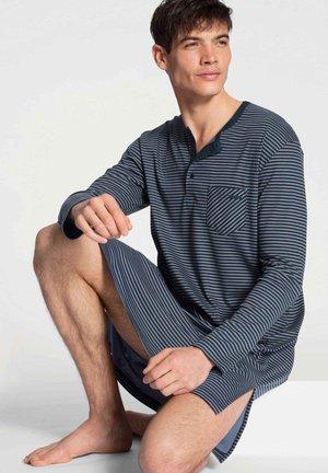 Pyjama top - dark sapphire