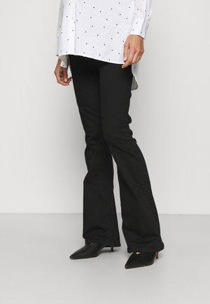 AMELIE FLARE DANE - Flared Jeans - black