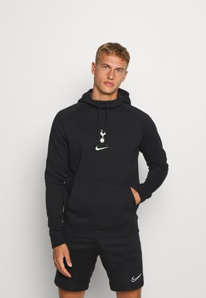 TOTTENHAM HOTSPURS HOOD - Club wear - black/barely volt