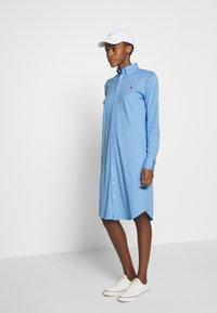 Polo Ralph Lauren - OXFORD - Vestido camisero - blue lagoon - 1
