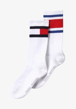 FLAG 2 PACK - Calcetines - white