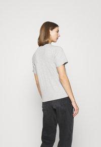 Even&Odd - 2 PACK - Basic T-shirt - white/grey - 2