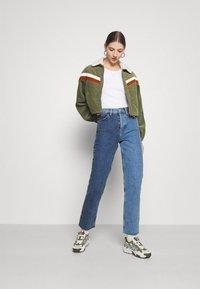 Cotton On - RETRO JACKET - Light jacket - khaki - 1