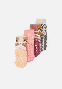 Ewers - LEOPARD 4 PACK UNISEX - Socks - pink - 1