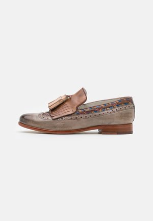 SELINA 3 - Slip-ons - pavia/oxygen/new haring bone/multicolor/tortora/white/natural