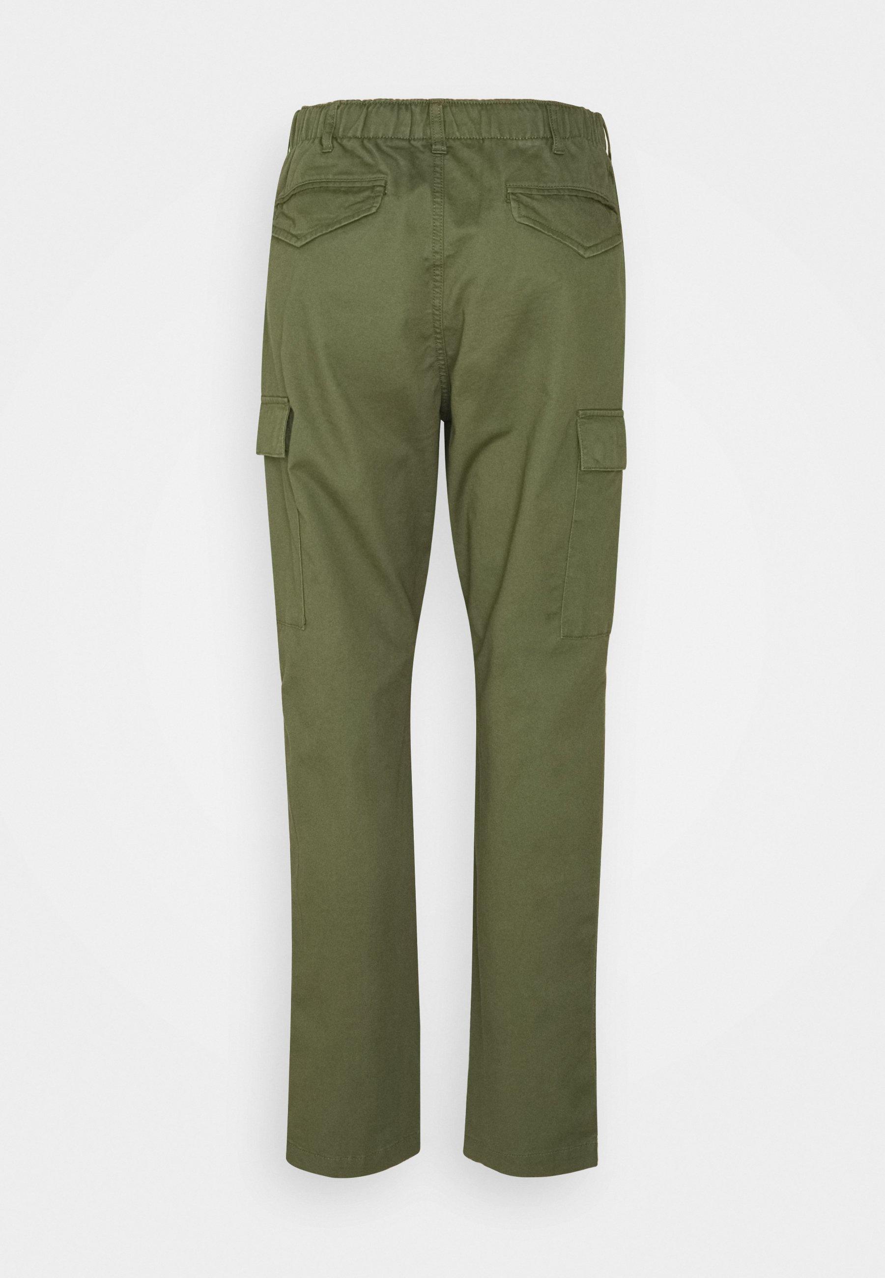Homme STRETCH SLIM FIT TWILL CARGO PANT - Pantalon cargo