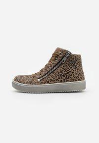 Superfit - HEAVEN - Sneakersy wysokie - beige - 0