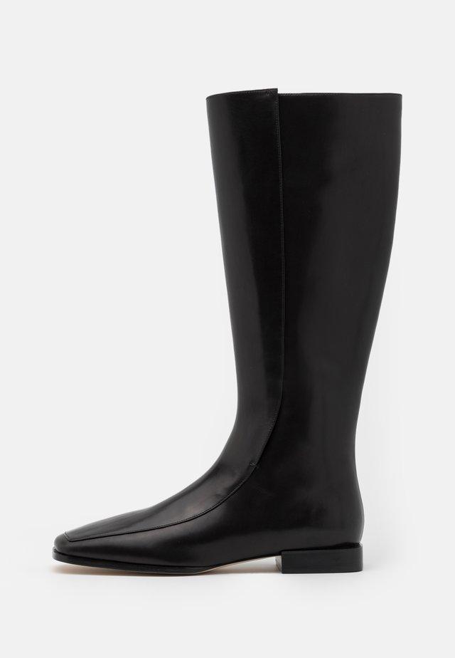 SQUARE TOE BOOT - Laarzen - perfect black