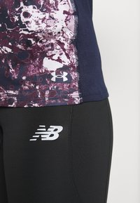 Under Armour - FLY BY PRINTED TANK - Sports shirt - purple - 6